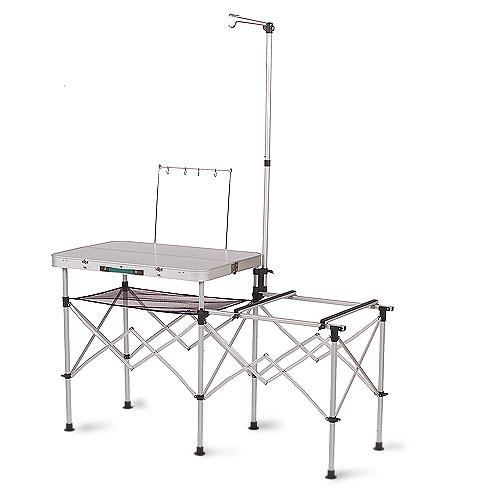 coleman camp kitchen with sink portable coleman table folding kitchen stand camping 8243